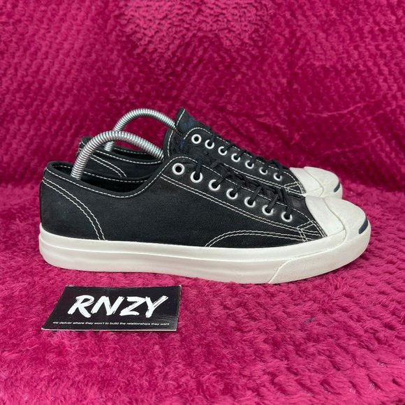 Converse Jack Purcell LTT Ox Black White Low Top Sneakers